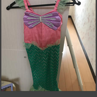 ディズニー(Disney)のリトルマーメイド ドレス 110(衣装一式)
