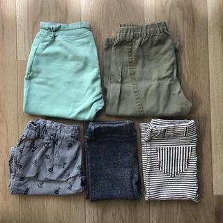 ベルメゾン(ベルメゾン)の【お得★】子供服まとめ売り ズボン 5枚セット(パンツ)