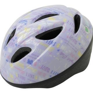 自転車 ヘルメット ジュニア SGマーク付 バイオレット (自転車)