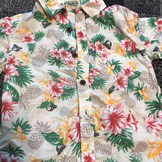 ダブルビー(DOUBLE.B)の美品 DOUBLE.B アロハシャツ120(Tシャツ/カットソー)