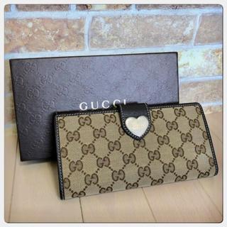 Gucci - 《美品》GUCCI(グッチ)長財布