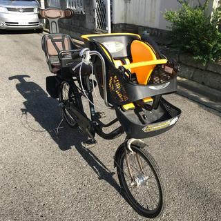 アサヒ(アサヒ)の子供乗せ3人乗り自転車◇mama fre!◇20×22型◇3段ギア(自転車本体)