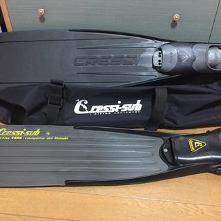クレッシーサブ(CRESSI-SUB)の人気のクレッシーサブのロングフィンセット(マリン/スイミング)