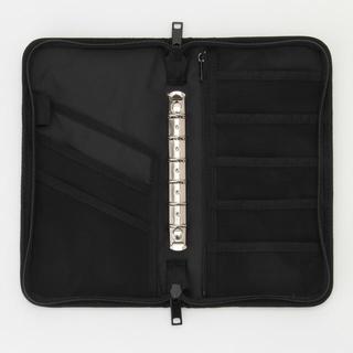 ムジルシリョウヒン(MUJI (無印良品))の無印 パスポートケース ブラック 黒 リフィールなし(ポーチ)
