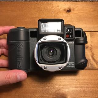 コニカミノルタ(KONICA MINOLTA)のKonica コニカ 現場監督 ズーム  フィルムカメラ 電池付き(フィルムカメラ)