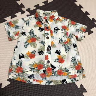 ダブルビー(DOUBLE.B)のダブルビー アロハシャツ 80(Tシャツ)