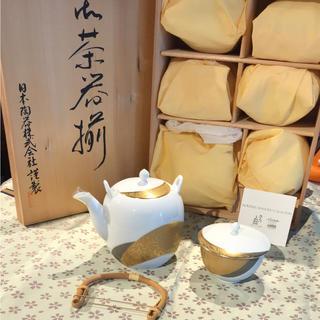 ノリタケ(Noritake)の未使用品! ☆ノリタケ☆ ダイヤモンドコレクション 金閣銀閣 茶器揃(食器)
