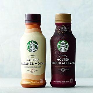 スターバックスコーヒー(Starbucks Coffee)の【日本未発売】スターバックス 塩キャラメルモカ モルテンチョコレートラテ(コーヒー)