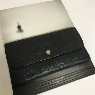 ルイヴィトン(LOUIS VUITTON)の【美品・2012年製】ルイ・ヴィトン アンプラント ヴィルトゥオーズ長財布(財布)