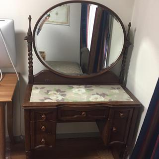 ローラアシュレイ(LAURA ASHLEY)の木製鏡台 ドレッサー  化粧台(ドレッサー/鏡台)