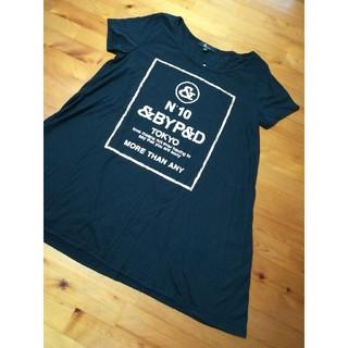 アンドバイピーアンドディー(&byP&D)の&byP&D  10周年記念 東京 &ロゴ T シャツ 新品(Tシャツ(半袖/袖なし))