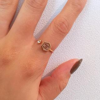 六角形リング 指輪