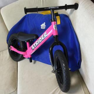 ストライダ(STRIDA)の【美品】正規品ストライダーST-J4 キャリーバッグ付き(自転車)
