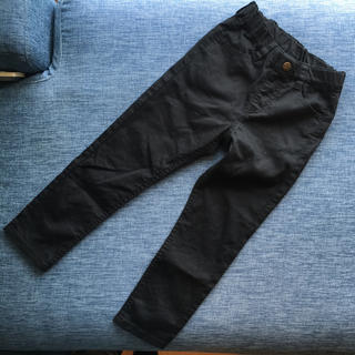 ジーユー(GU)の美品 ◆◇◆ GU ストレッチ パンツ 黒 110(パンツ/スパッツ)