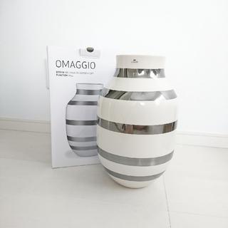 ケーラー(Kahler)のKAHLER オマジオ オマジオシルバー 北欧 フラワーベース(花瓶)