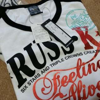 ラスケー(RUSS・K)のラスケーのロングTシャツ(Tシャツ/カットソー(七分/長袖))