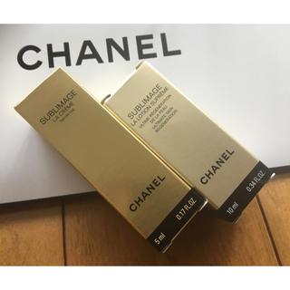 シャネル(CHANEL)の★シャネル サブリマージュ ¥5,500相当量 サンプル クリーム & 化粧水(サンプル/トライアルキット)