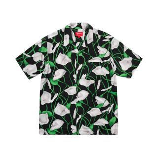 シュプリーム(Supreme)の【XL】Supreme Lily Rayon Shirt ゆり柄(シャツ)