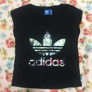 adidas - adidas アディダス ノースリーブ Tシャツ レディース ヨガ ジム 黒 S