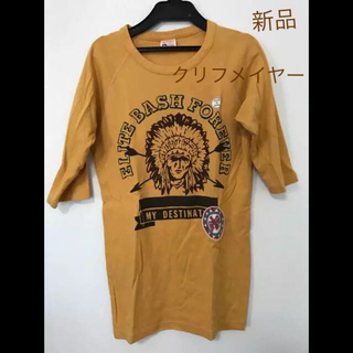 クリフメイヤー(KRIFF MAYER)のメンズ カットソー 五分丈 L 日本製(Tシャツ/カットソー(七分/長袖))
