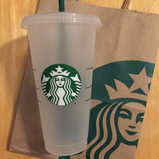 スターバックスコーヒー(Starbucks Coffee)の【2個セット】 海外限定 スターバックス リユーザブル  プラスチック カップ(タンブラー)