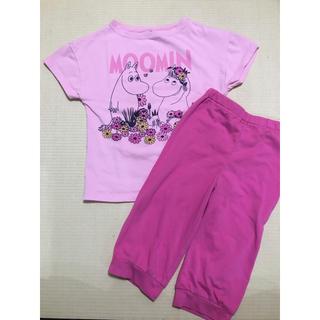ユニクロ(UNIQLO)の(ユニクロ)試着のみムーミン半袖パジャマ、キッズS(パジャマ)