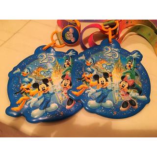 ディズニー(Disney)のディズニー パスケース  25周年💗(パスケース/IDカードホルダー)