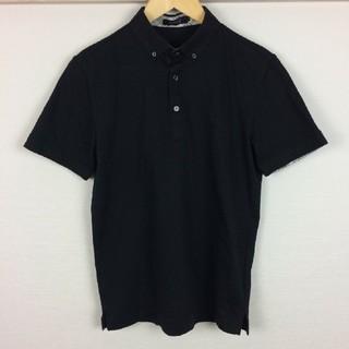 バーバリーブラックレーベル(BURBERRY BLACK LABEL)の美品 BURBERRY BLACK LABEL 半袖ポロシャツ カットソー生地(ポロシャツ)