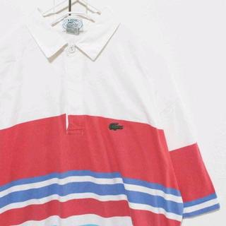 ラコステ(LACOSTE)のUS アイゾッド ラコステ WHRDBL 半袖 ポロシャツ M(ポロシャツ)
