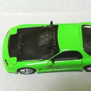 ドリフト天国 VERTEX FD35 RE-7 グリーン 緑(模型/プラモデル)