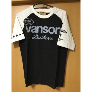 バンソン(VANSON)のVANSON バンソン 両面両腕プリント 半袖 Tシャツ 黒 Lサイズ 未使用②(Tシャツ/カットソー(半袖/袖なし))