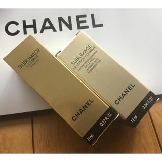 シャネル(CHANEL)の★シャネル サブリマージュ サンプル ¥5,500相当量 クリーム & 化粧水(サンプル/トライアルキット)