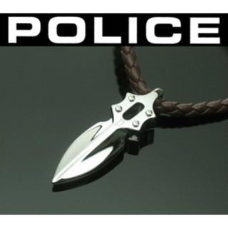 ポリス(POLICE)のIMPACT 20575PLC02 ポリス レザー ネックレス(ネックレス)