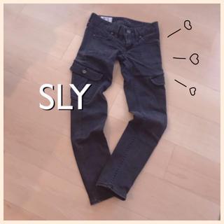 スライ(SLY)のSLY♥カーゴ スキニーパンツ(ワークパンツ/カーゴパンツ)