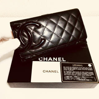 シャネル(CHANEL)の297❤️超美品❤️シャネル❤️Wホック 長財布❤️正規品鑑定済み❤️(財布)