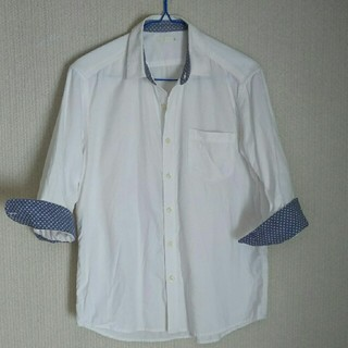 ジーユー(GU)のメンズシャツ七分袖 GU(シャツ)