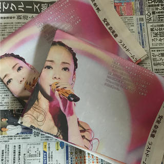 安室奈美恵 新聞 (印刷物)