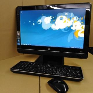 ヒューレットパッカード(HP)の中古パソコン 液晶一体型 Core i7搭載 地デジがみれます(デスクトップ型PC)