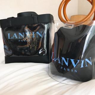 ランバン(LANVIN)のランバン新品シューズ袋✨クリアバッグ(その他)