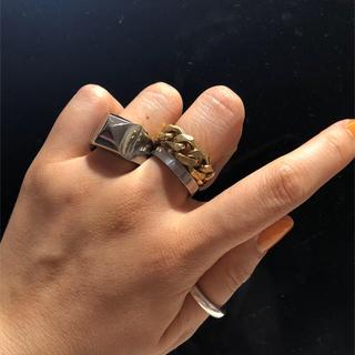 イオッセリアーニ(IOSSELLIANI)の※きゃり様専用※ イオッセリアーニ 2連チェーンリング(リング(指輪))