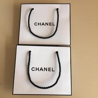 シャネル(CHANEL)のCHANEL ショッパー 2枚セット(ショップ袋)