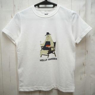 ヘリーハンセン(HELLY HANSEN)のHELLY HANSEN ヘリーハンセン ベア 半袖Tシャツ 140cm 白(Tシャツ/カットソー)