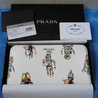 プラダ(PRADA)の☆正規品 プラダ 長財布 ラウンド サフィアーノ ロボット 未使用品(財布)