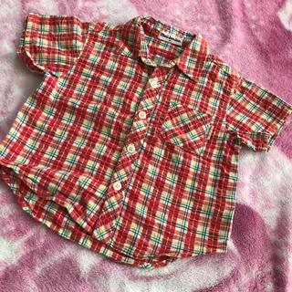 ムージョンジョン(mou jon jon)のムージョンジョン   チェックシャツ(Tシャツ/カットソー)