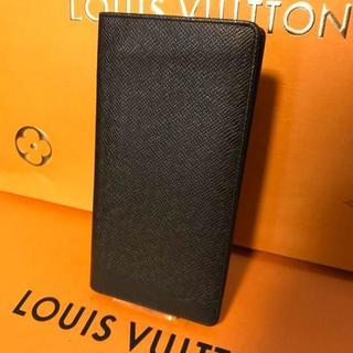 ルイヴィトン(LOUIS VUITTON)のかなり美品 ルイヴィトン 正規品 タイガ 長財布 ブラック(財布)