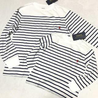ポロラルフローレン(POLO RALPH LAUREN)の親子コーデ☺︎新品✨ボーダー コットン ロングTシャツ(Tシャツ/カットソー)