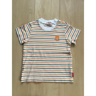 ミキハウス(mikihouse)の☆ミキハウス☆半袖Tシャツ☆ボーダー☆ホットビ☆90☆(Tシャツ/カットソー)