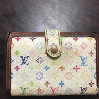 ルイヴィトン(LOUIS VUITTON)のルイ ヴィトン マルチカラーガマ口財布(財布)