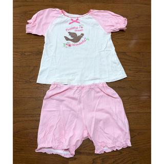 ニシマツヤ(西松屋)の子供服 女の子 パジャマ 110センチ(パジャマ)