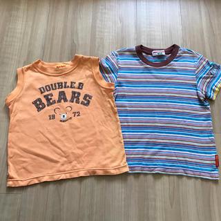 ダブルビー(DOUBLE.B)のミキハウス  ダブルビー  Tシャツ  タンクトップ  100 2枚セット(Tシャツ/カットソー)